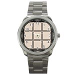 fastasia multi mini frame watch - Sport Metal Watch