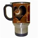 I heart You Pink Mug 24 - Travel Mug (White)