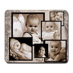 Fantasia Faded Beige Multi frame mousemat - Large Mousepad