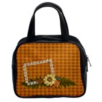 Flower & Lace Bag - Classic Handbag (Two Sides)