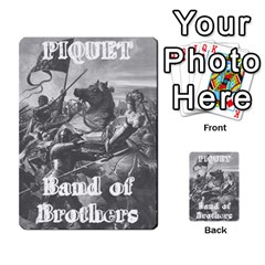 Band Of Brothers Cards2 By Dave   Playing Cards 54 Designs   Vd1sekm7zqyf   Www Artscow Com Back