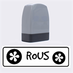 ROUS  -  Rubber stamp - Name Stamp