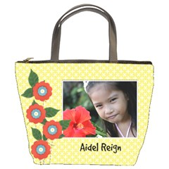 Bucket Bag  Template  Flowers By Jennyl   Bucket Bag   Rfuf5a0gnud2   Www Artscow Com Front