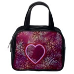 I heart you swirl 321 pink - Classic Handbag (One Side)