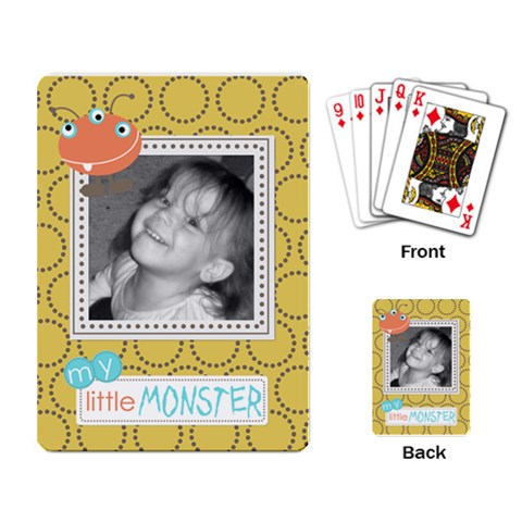 Fun Cards 2 By Martha Meier   Playing Cards Single Design   Mm86zv0xdp1s   Www Artscow Com Back