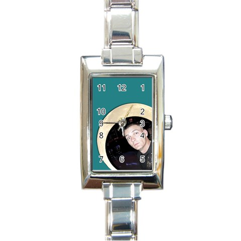 Watch By Brookieadkins Yahoo Com   Rectangle Italian Charm Watch   Mtk5kxgu0f48   Www Artscow Com Front