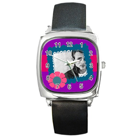 Watch By Brookieadkins Yahoo Com   Square Metal Watch   Xxvxbqypugdb   Www Artscow Com Front