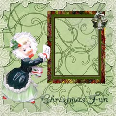 Vintage Christmas Mix Match Magic Cube #2 By Ellan   Magic Photo Cube   52qqdfe4c1qm   Www Artscow Com Side 5