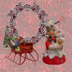 Vintage Christmas Mix Match Magic Cube #2 By Ellan   Magic Photo Cube   52qqdfe4c1qm   Www Artscow Com Side 6