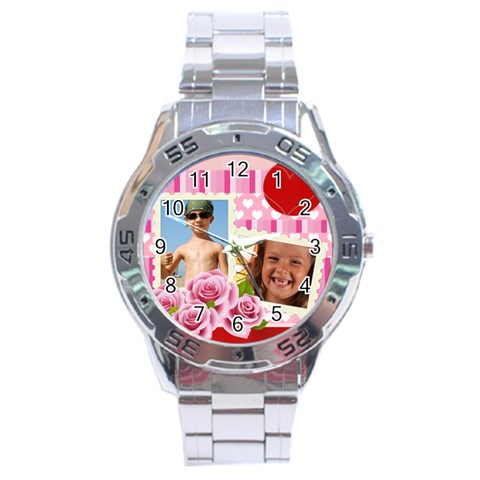 Flower Kids By Joely   Stainless Steel Analogue Watch   Rqtxq9swlhzm   Www Artscow Com Front