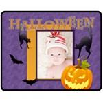halloween - Fleece Blanket (Medium)