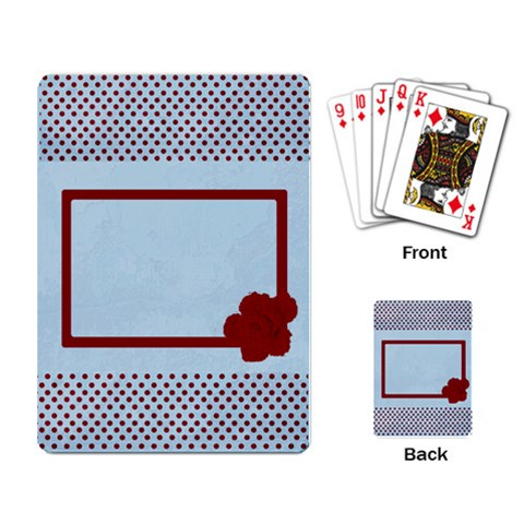 Cards1 By April Williams   Playing Cards Single Design   K9y85mo0jyxt   Www Artscow Com Back