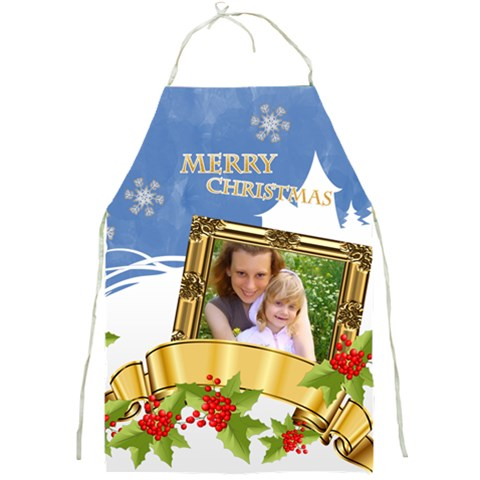 Xmas By Joely   Full Print Apron   As2333ufwpgg   Www Artscow Com Front