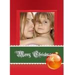christmas - Greeting Card 5  x 7