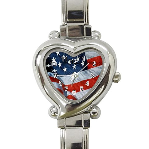 American Heart   Watch By Carmensita   Heart Italian Charm Watch   H6fr3m6mxoq6   Www Artscow Com Front