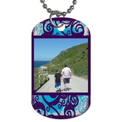 Fantasia Father And Son  Dog Tag By Catvinnat   Dog Tag (two Sides)   77f8naj0psx8   Www Artscow Com Back