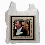 Fantasia Bride & Groom wedding double side recycle bag - Recycle Bag (Two Side)
