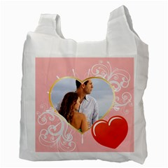 Love By Wood Johnson   Recycle Bag (two Side)   Sdyv1na6huli   Www Artscow Com Back