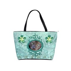 Frog Salad Shoulder Bag By Joan T   Classic Shoulder Handbag   5bexl3jxu9sw   Www Artscow Com Front