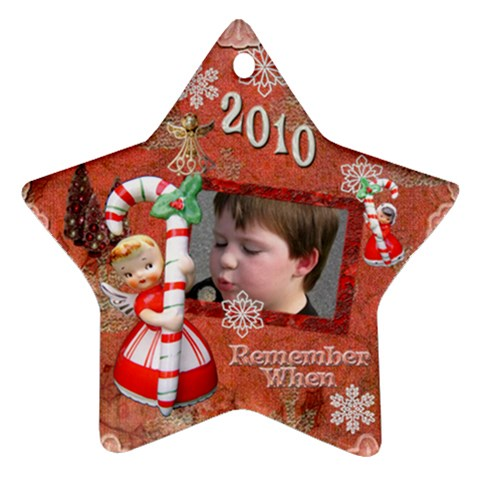 Seth Christmas Ornament By Breanna   Ornament (star)   Ox0jcanuty3d   Www Artscow Com Front
