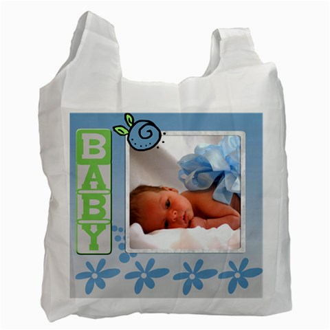 Baby Boy    Bag By Carmensita   Recycle Bag (one Side)   I11omujlinqc   Www Artscow Com Front