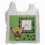 Fairy tales GREEN -  BAG - Recycle Bag (One Side)