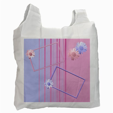 Flowers Recycle Bag By Add In Goodness And Kindness   Recycle Bag (one Side)   1fbqchyoq7r0   Www Artscow Com Front