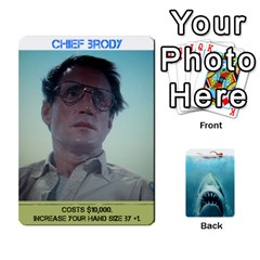 Jaws #1 By Mark Chaplin   Playing Cards 54 Designs   O3bb5t0iers2   Www Artscow Com Front - Club9