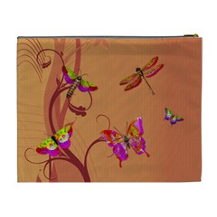 Spread Your Wings And Fly Xl Cosmetic Bag By Lil    Cosmetic Bag (xl)   W37cbe6047wx   Www Artscow Com Back