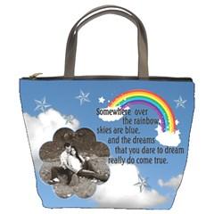 Sky Bucket Bag By Lil    Bucket Bag   Q5xb7yx4o2de   Www Artscow Com Front