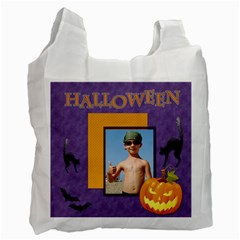 Halloween Bag By Joely   Recycle Bag (two Side)   Xcs4otrgx9zc   Www Artscow Com Front