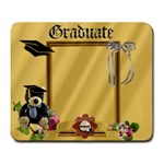 graduate 1 mousepad - Large Mousepad