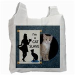 I m a Cat Slave Recycle Bag - Recycle Bag (One Side)