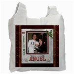 My Christmas Angel Recycle Bag - Recycle Bag (One Side)
