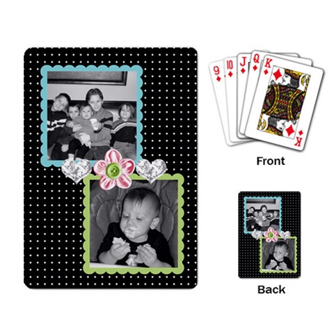 Deck Of Cards 4 By Martha Meier   Playing Cards Single Design   Po1mwi090rsb   Www Artscow Com Back