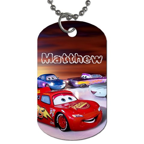 Dog Tag Matthew By Sandra   Dog Tag (one Side)   Rt3uqnqy0g7v   Www Artscow Com Front
