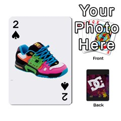 Dc Cards By Luvbugerin   Playing Cards 54 Designs   Vm628eqa6hb1   Www Artscow Com Front - Spade2
