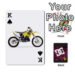 King Dc Cards By Luvbugerin   Playing Cards 54 Designs   Vm628eqa6hb1   Www Artscow Com Front - SpadeK