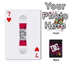 Dc Cards By Luvbugerin   Playing Cards 54 Designs   Vm628eqa6hb1   Www Artscow Com Front - Heart7