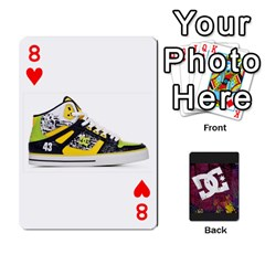 Dc Cards By Luvbugerin   Playing Cards 54 Designs   Vm628eqa6hb1   Www Artscow Com Front - Heart8