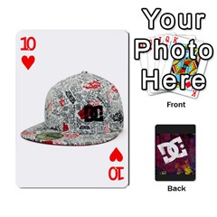 Dc Cards By Luvbugerin   Playing Cards 54 Designs   Vm628eqa6hb1   Www Artscow Com Front - Heart10