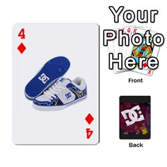 Dc Cards By Luvbugerin   Playing Cards 54 Designs   Vm628eqa6hb1   Www Artscow Com Front - Diamond4