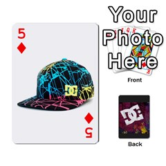 Dc Cards By Luvbugerin   Playing Cards 54 Designs   Vm628eqa6hb1   Www Artscow Com Front - Diamond5