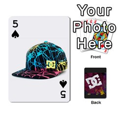 Dc Cards By Luvbugerin   Playing Cards 54 Designs   Vm628eqa6hb1   Www Artscow Com Front - Spade5