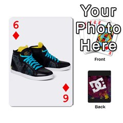 Dc Cards By Luvbugerin   Playing Cards 54 Designs   Vm628eqa6hb1   Www Artscow Com Front - Diamond6