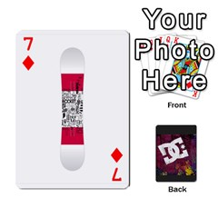 Dc Cards By Luvbugerin   Playing Cards 54 Designs   Vm628eqa6hb1   Www Artscow Com Front - Diamond7