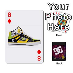 Dc Cards By Luvbugerin   Playing Cards 54 Designs   Vm628eqa6hb1   Www Artscow Com Front - Diamond8