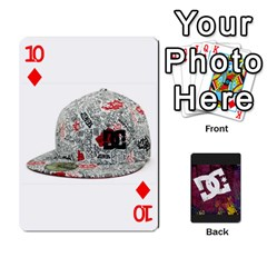 Dc Cards By Luvbugerin   Playing Cards 54 Designs   Vm628eqa6hb1   Www Artscow Com Front - Diamond10