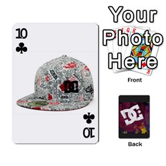 Dc Cards By Luvbugerin   Playing Cards 54 Designs   Vm628eqa6hb1   Www Artscow Com Front - Club10