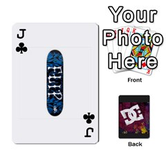 Jack Dc Cards By Luvbugerin   Playing Cards 54 Designs   Vm628eqa6hb1   Www Artscow Com Front - ClubJ